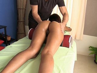 Oled cutie Lalana loves good massage